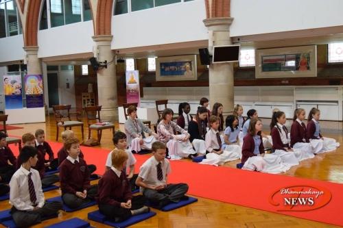 Westfield Primary School Visit// Wat Phra Dhammakaya London