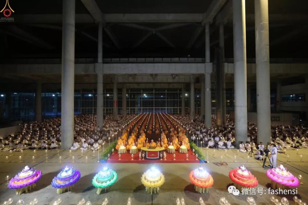 2018 Thailand Water Festival Loi Krathong Dhammakaya Foundation